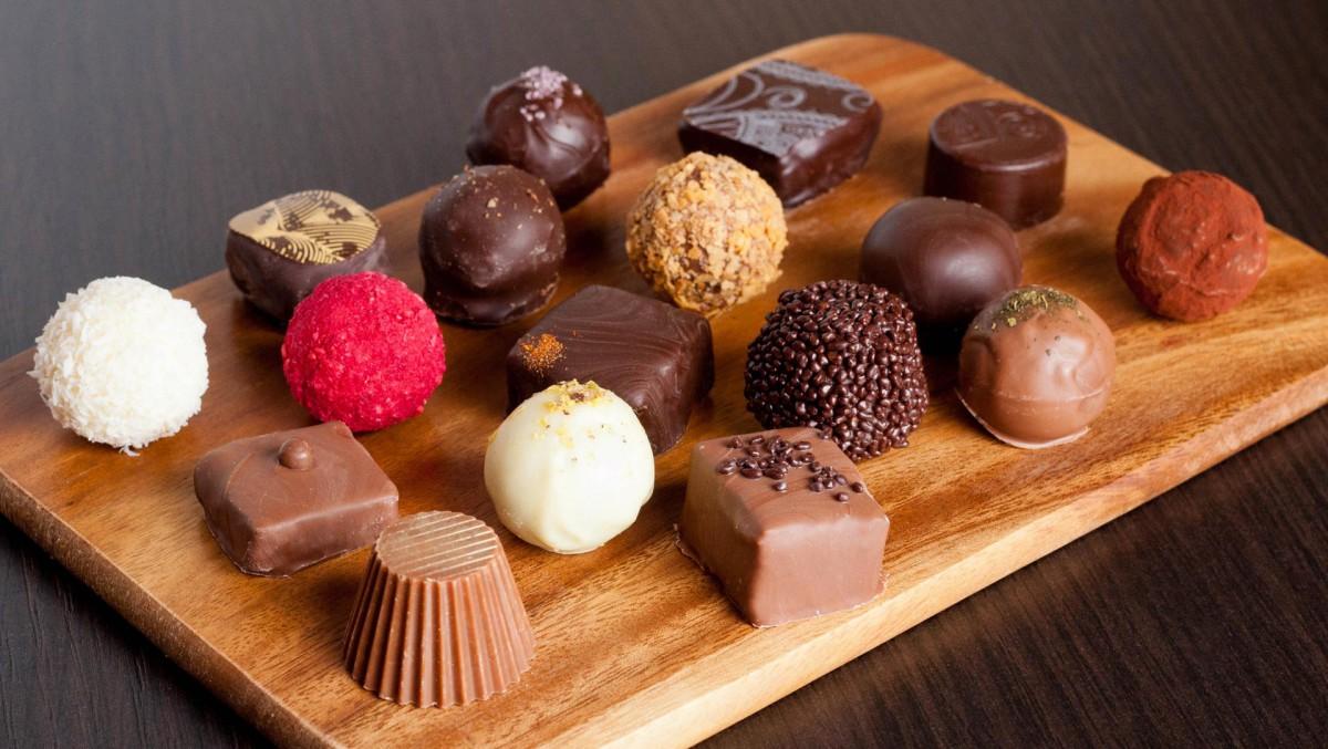 Фото рецепт шоколадных конфет своими руками